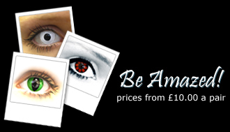 Marmalade Park - Crazy & Natural Contact Lenses from just £10.00 a pair